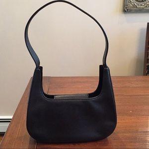 Black Kenneth Cole Leather Shoulder Bag